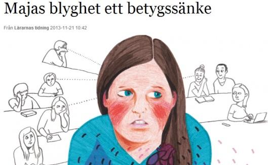 Artikel om blyghet